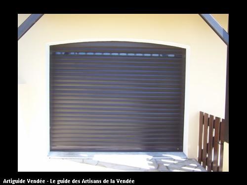 Jacques degrange menuisier l 39 ile d 39 olonne - Porte de garage enroulable grande largeur ...